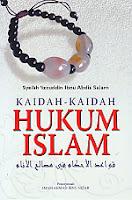 toko buku rahma: buku kaidah-kaidah hukum islam, pengarang syeikh 'izzuddin ibnu abdis salam, penerbit nusamedia