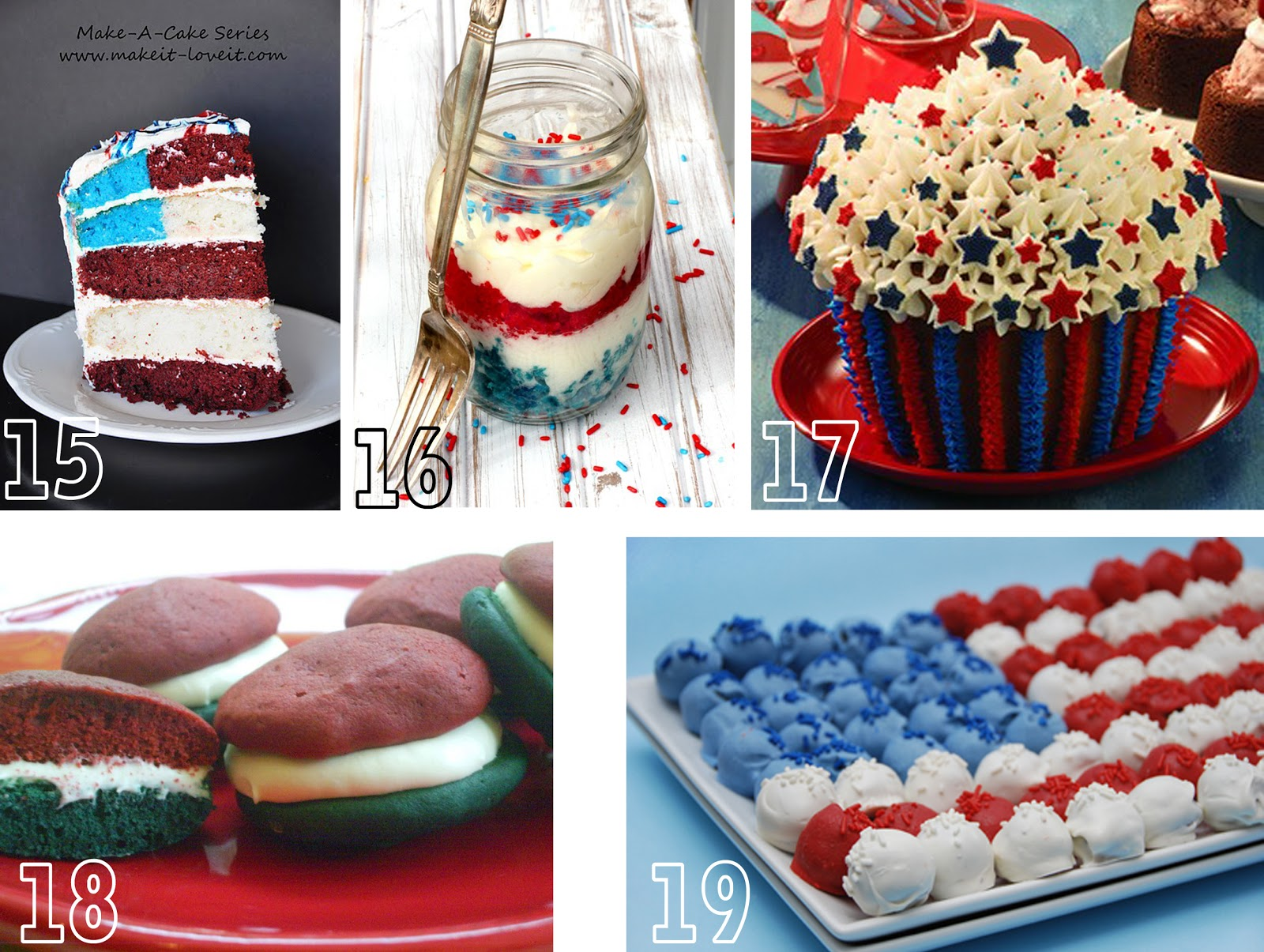 Patriotic Foods | Oopsey Daisy