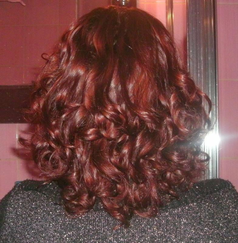 Niedziela dla włosów z kallosem blueberry :)