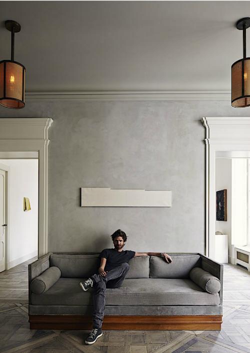 Apartment von dem Architekten Joseph Dirand Interioblog Leuchtend Grau