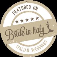 Sono su BRIDE IN ITALY