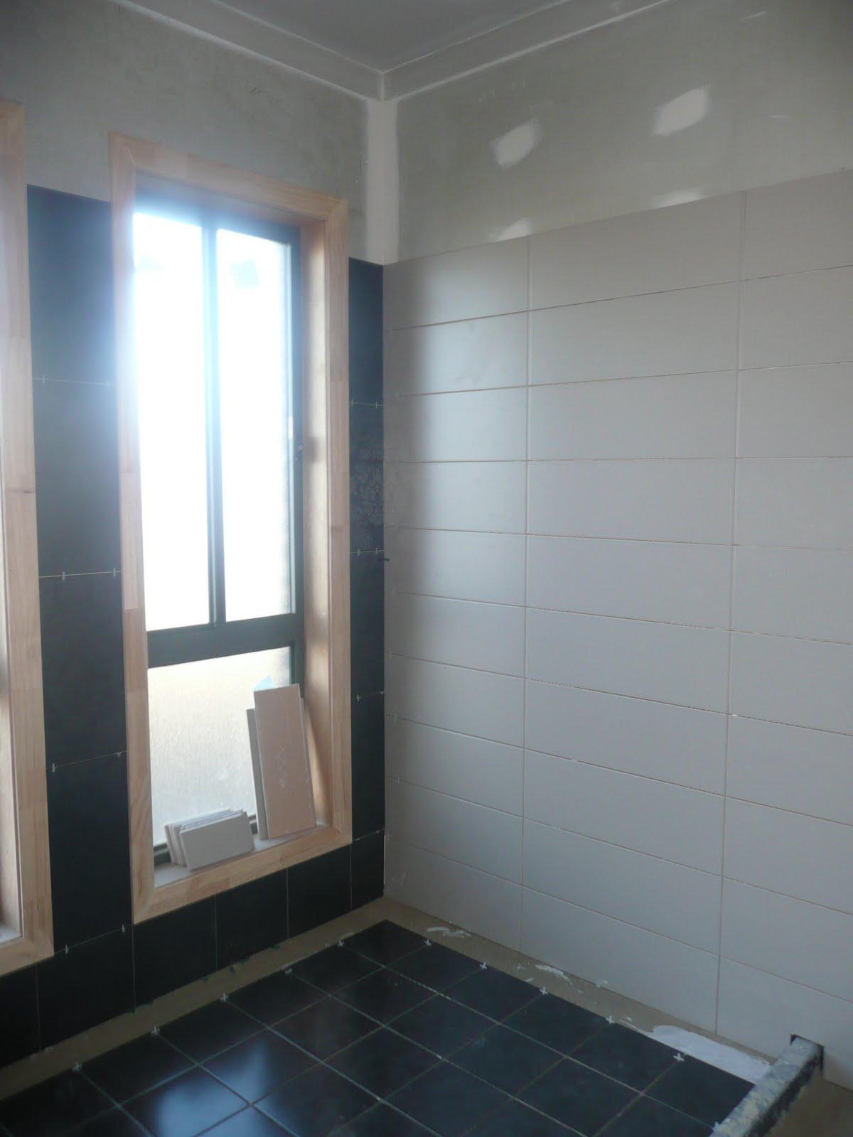 Eden Brae Hayman@the ponds: Tiling Update