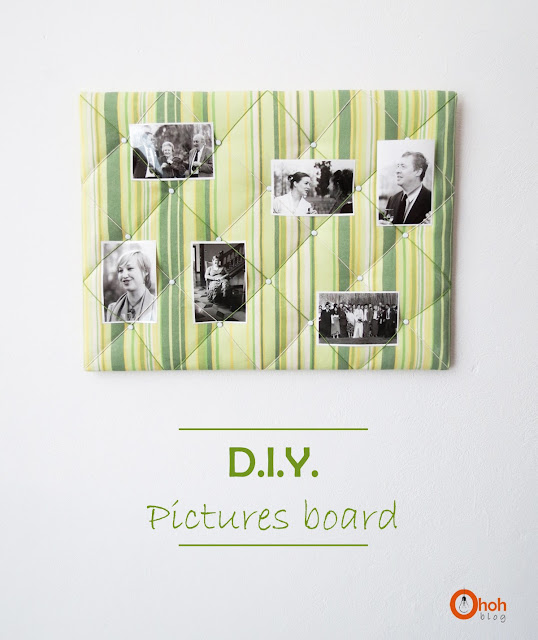 DIY pictures board