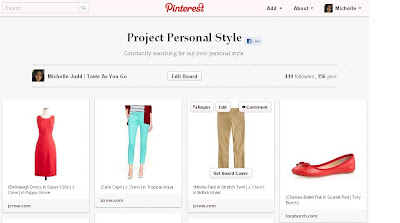 Project Personal Style Board on Pinterest