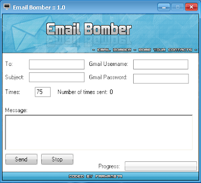how to send email bomb free