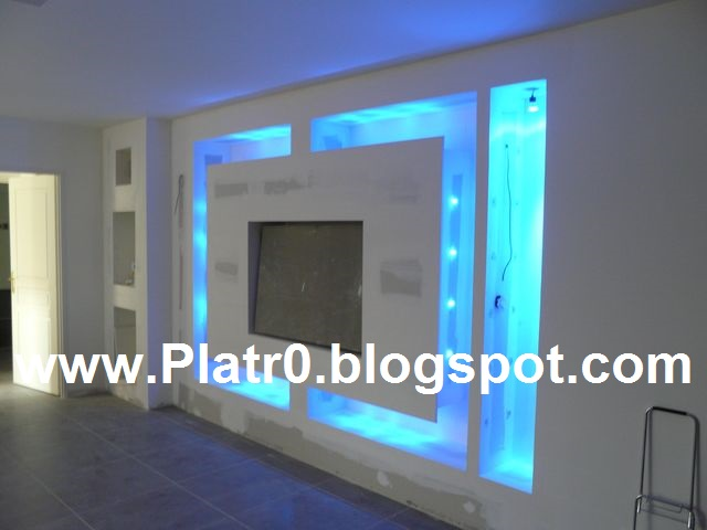 34 placoplatre placoplatre 2016 plafond platre led platre 2016 decoration des salon - Decoration Des Salon Placoplatre