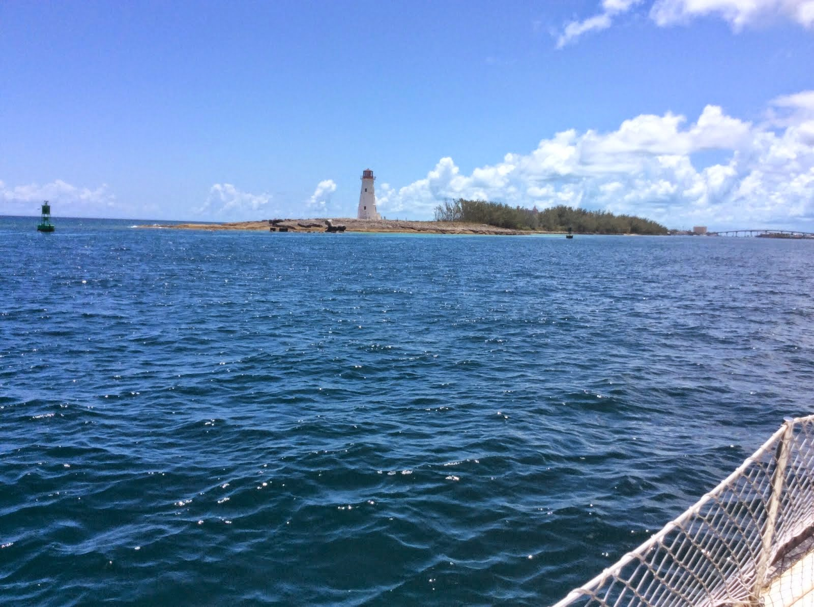 Entering Nassau Harbour Thursday, June 26, 2014