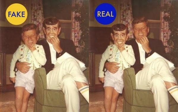 5. Фото Джона Кеннеди его дочери Каролины.