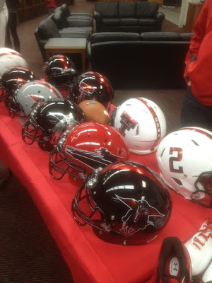 Texas Tech at have multiple alternate helmet options in 2013?