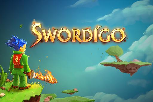 غلاف لعبة Swordigo