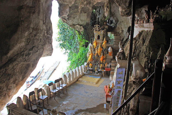 Grottes Pak Ou in Luang Prabang