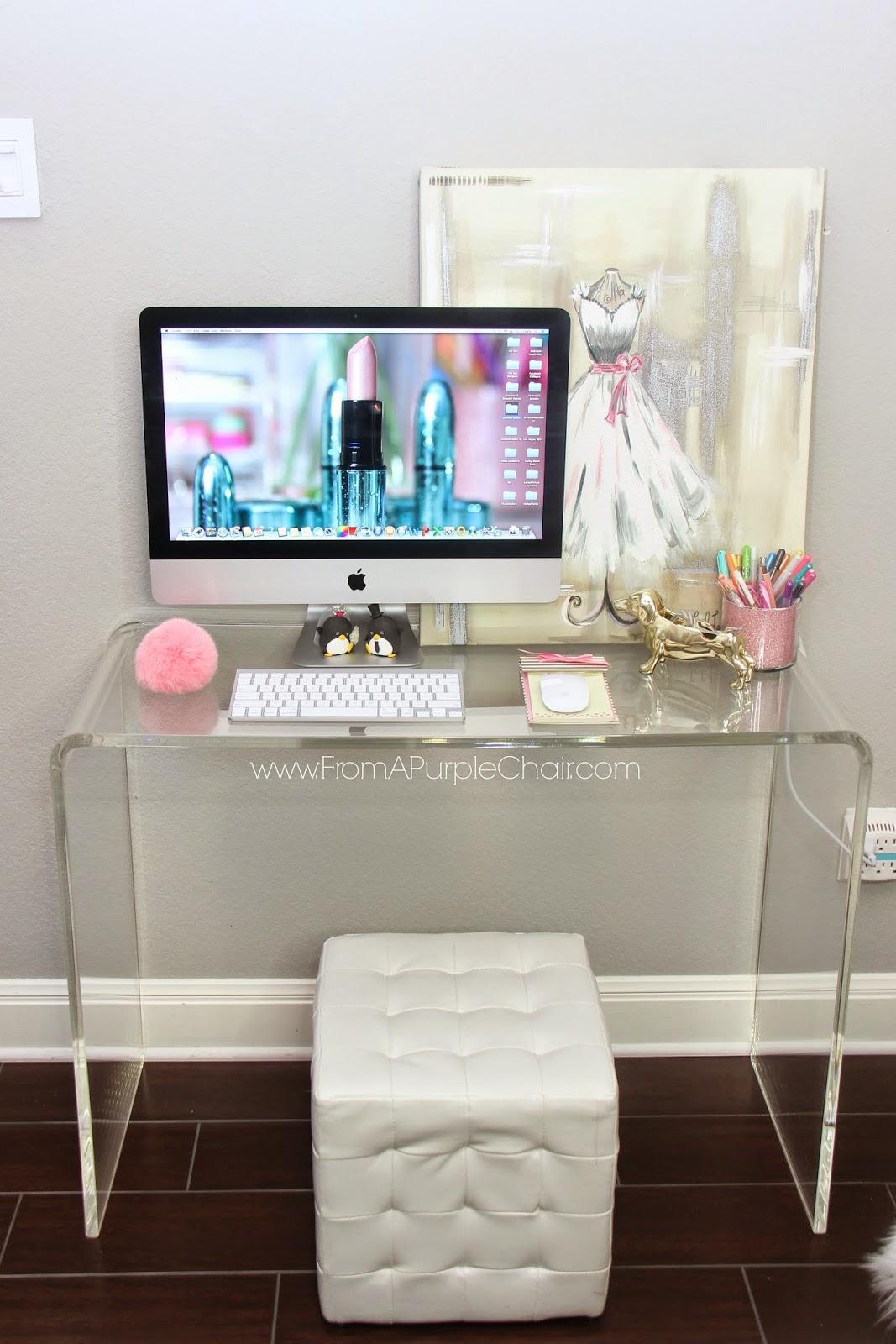 ... Idea Girly Office Decor