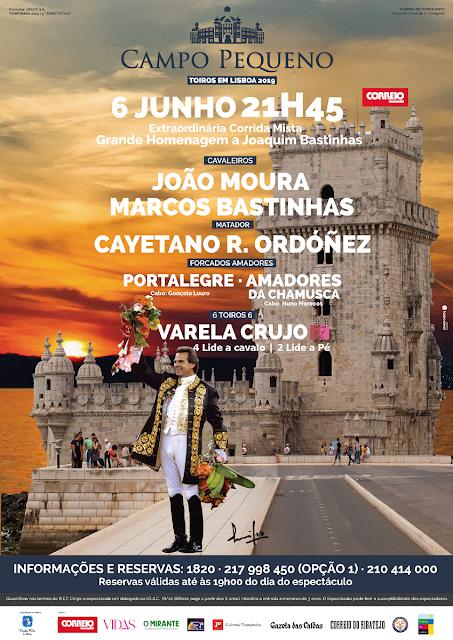 CAMPO PEQUENO (LISBOA) 06-06-2019-CORRIDA MIXTA.