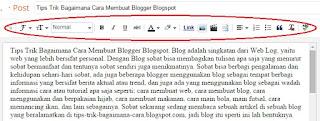 template post blogspot