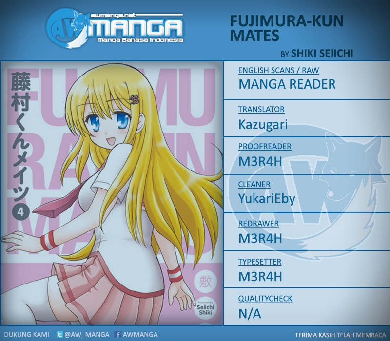 Komik fujimura kun mates 049 - petualangan chikage 50 Indonesia fujimura kun mates 049 - petualangan chikage Terbaru 0|Baca Manga Komik Indonesia|Mangacan