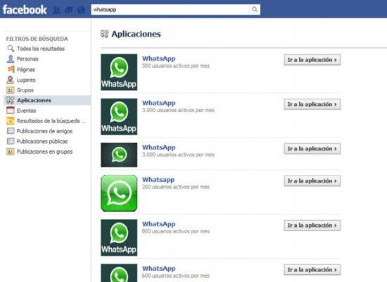 Facebook bloquea la aplicación falsa de WhatsApp