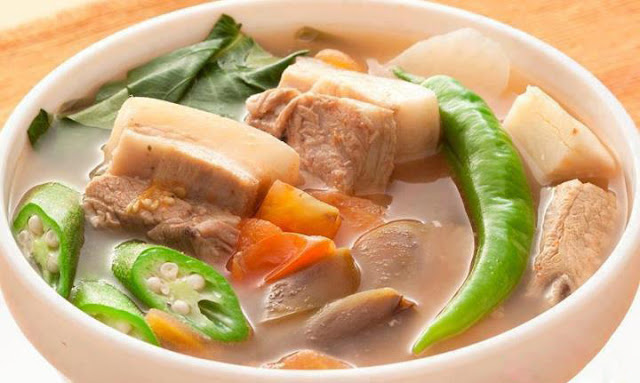 Pork Sinigang - Sinigang Na Baboy