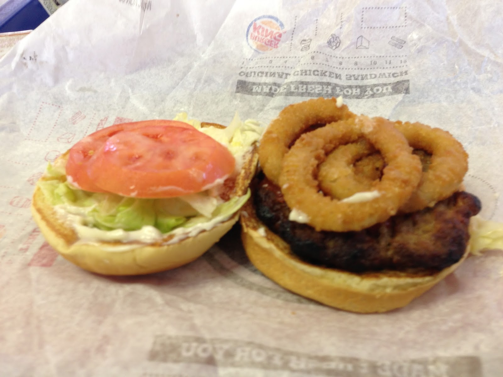 Burger King Bacon Cheddar Stuffed Burger [Review] - Fast ...