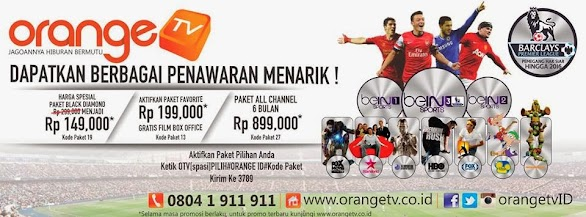 Promo Voucher Orange TV Bulan Maret 2014