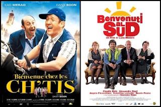 Remake Bienvenidos al norte sur, poster, cartel, carátula, portada