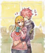 Natsu i Lucy