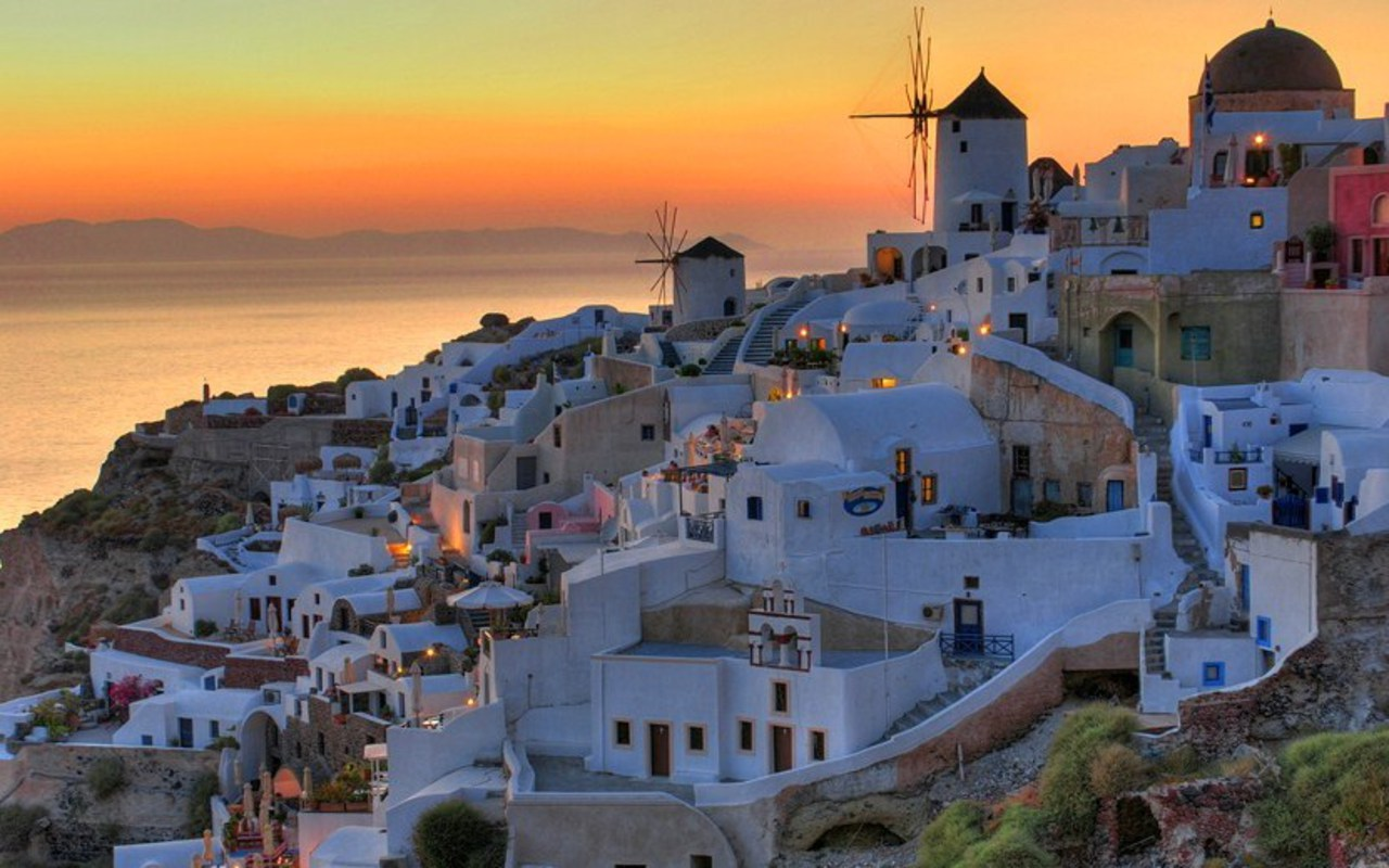 Santorini, Greece - Pictures of Santorini island ~ World ...