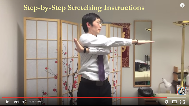 Chinese neck stretching exercises