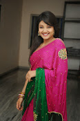 Priyanka Gorgeous Photos in Saree-thumbnail-16