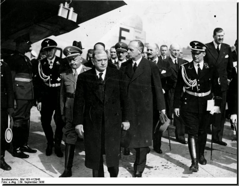 French prime minister Daladier Munich 1938
