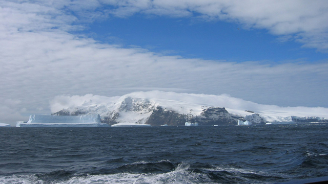 Bouvet IslandThis small uninhabited Norwegian island in the South Atlantic Ocean is almost 1,000 miles from Antarctica and nearly 1,500 miles from South Africa.