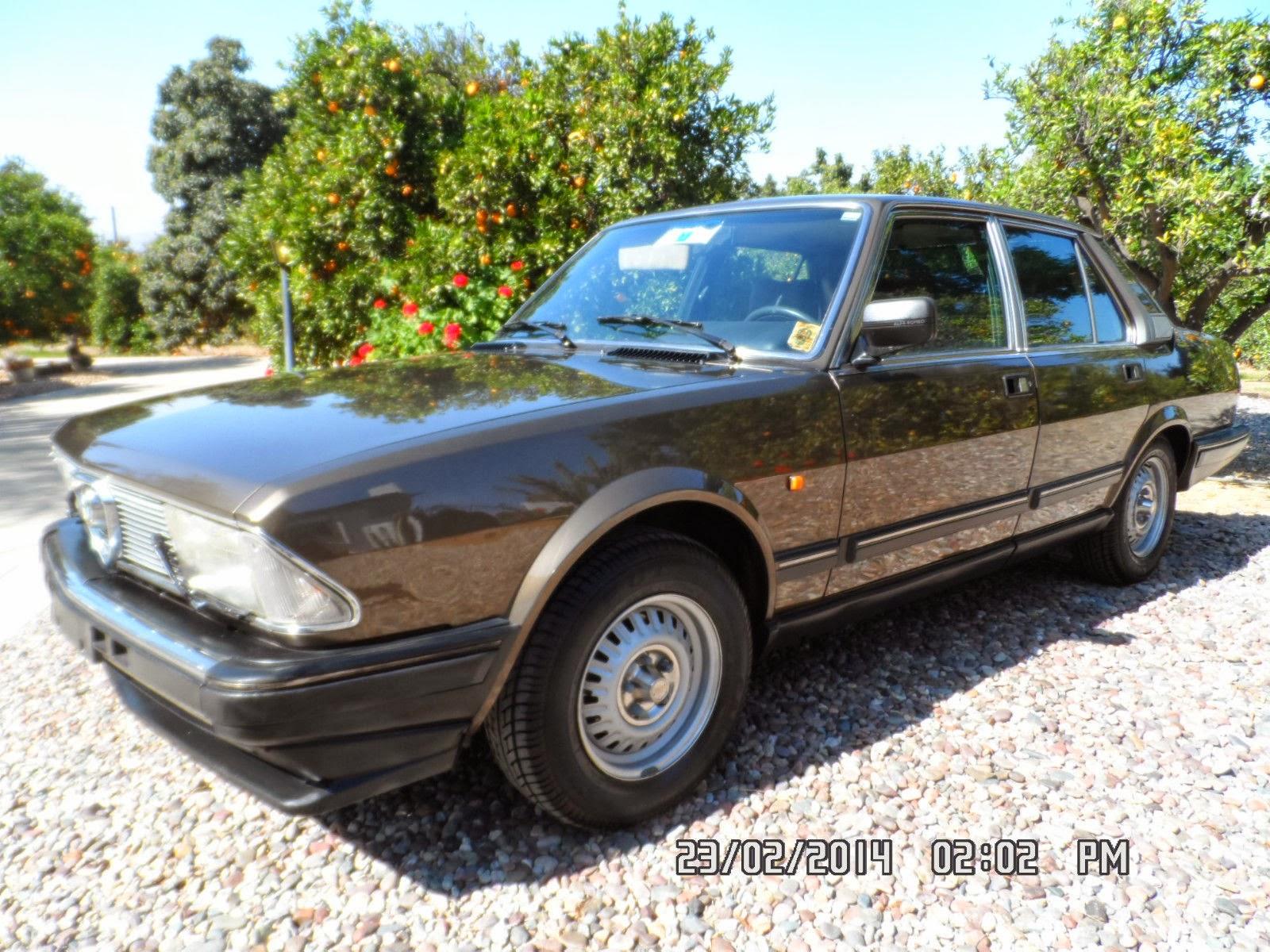 Just A Car Geek: 1985 Alfa Romeo Alfa 6 Turbodiesel - In the US ...