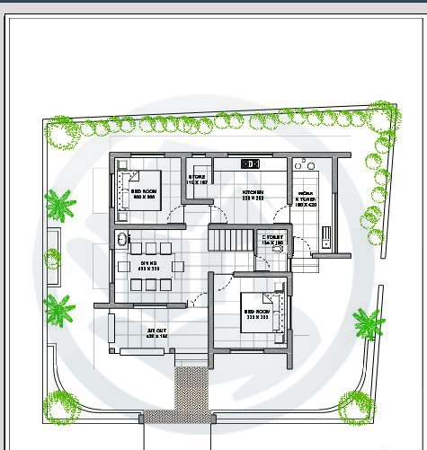 Beautiful kerala small budget home design free home plan Low budget house plans