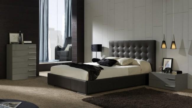 Muebles de dise o moderno y decoracion de interiores - Cabeceros tapizados de diseno ...