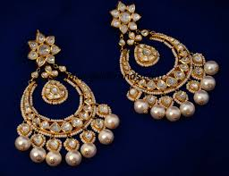 Dangler Earrings Or Jhumka Is Another Famous Indian Earring That Not Only Looks Beautiful But Loved By One And All These Hanging Bell Shaped