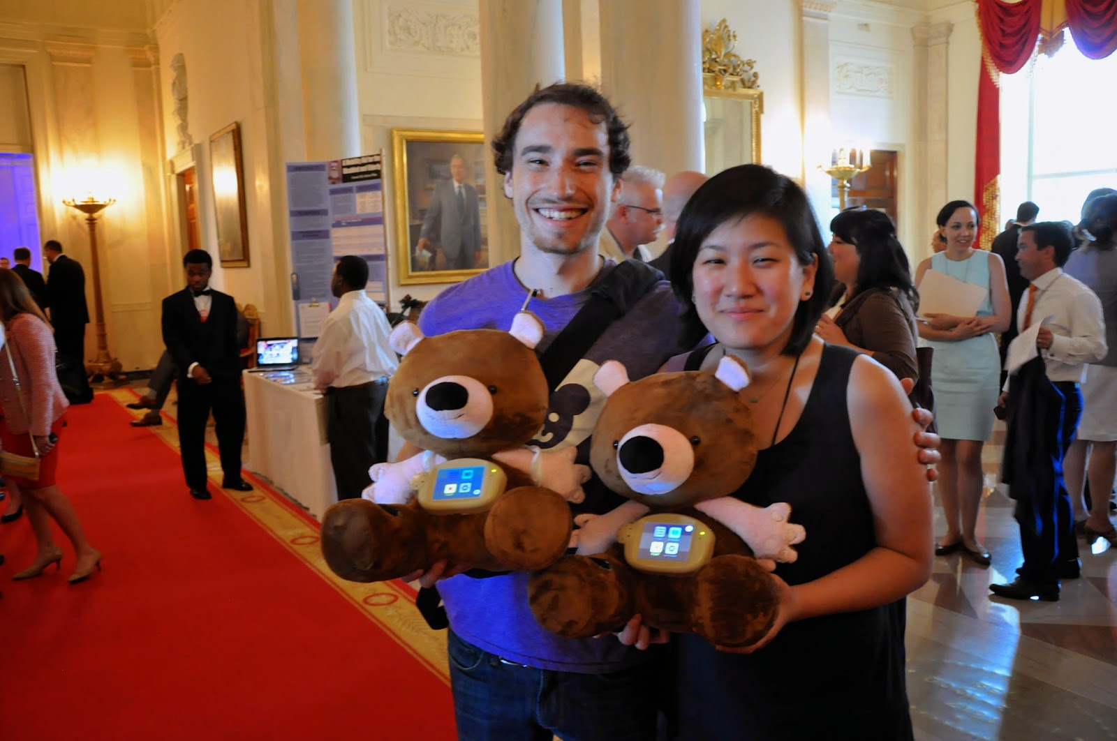 Tales of a 3D Printer: BPC's Day at the White House Maker Faire