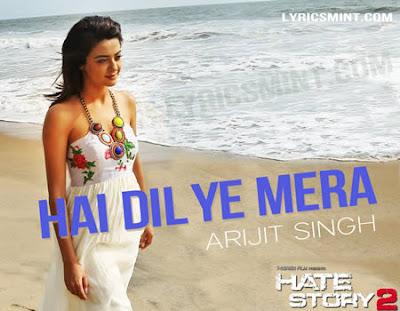 Hai Dil Ye Mera - Hate Story 2