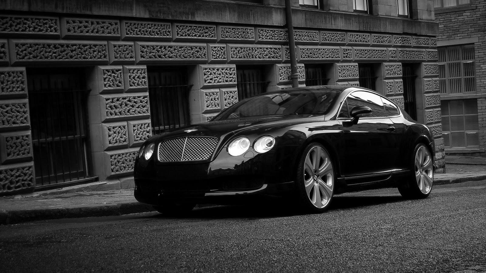 Black Bentley Continental GT S