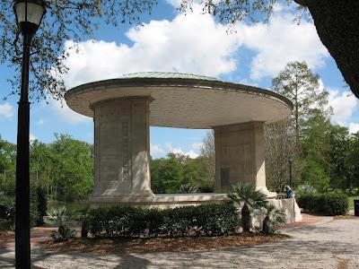 pavilion:  Audubon Park, NOLA