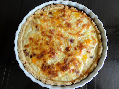 Cooked Star Quiche - Top Enders Friday Lunch