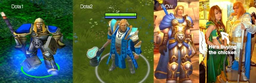 dota vs dota2 part 1 heroes look compared 1 easy mode