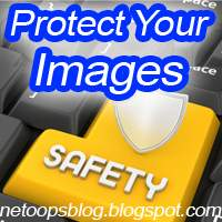 protect your images blogger trick