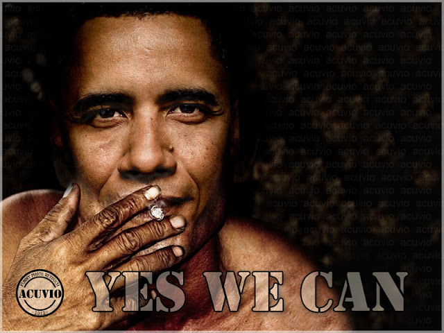 Funny photoBarack Obama Yes we can