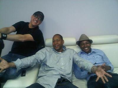 Mark Curry, Ndumiso Lindi, Mark Eddie, South Africa Nando Comedy Festival