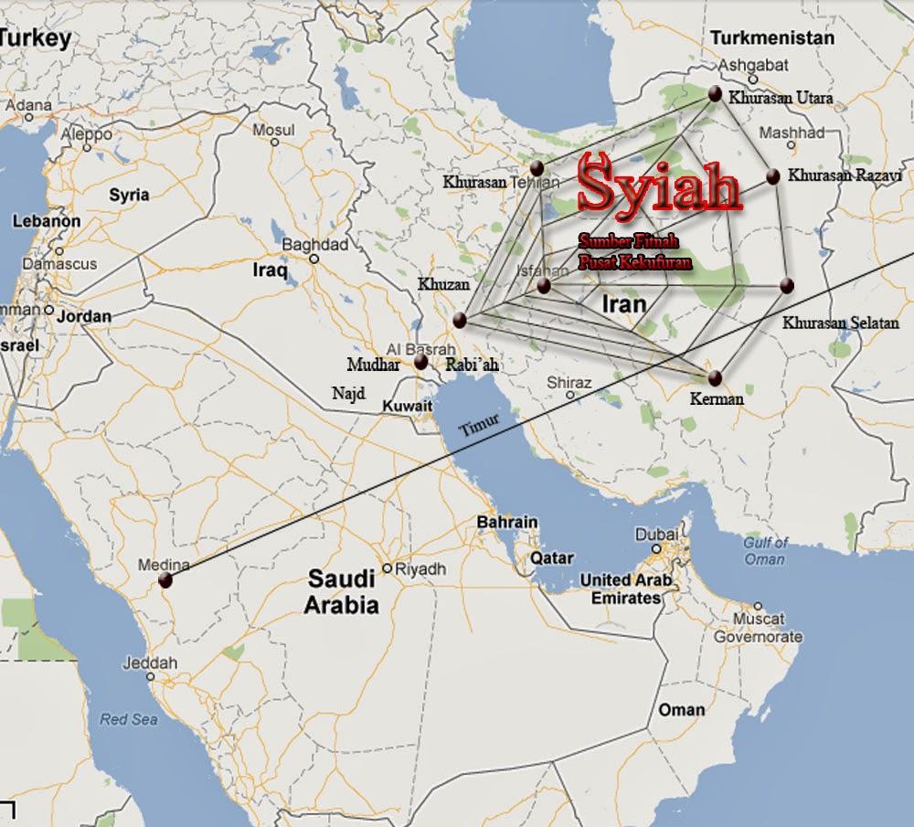 Iran Negeri Syiah Sarang Dajjal