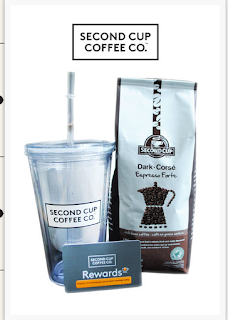 image Free Canadian Giveaway Prize- Second Cup Prize Pack Plastic tumbler,coffee plus gift card
