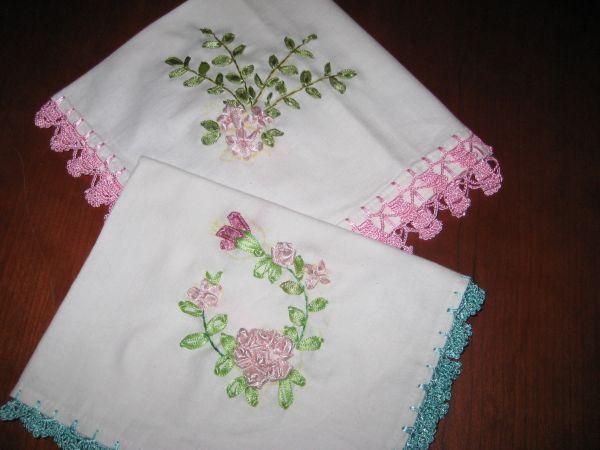 Knitting Patterns Free: 2011 Ribbon embroidery