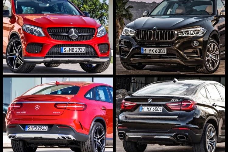 Motor Trends Naija Mercedes Benz vs BMW In A Compact SUV Royal Rumble