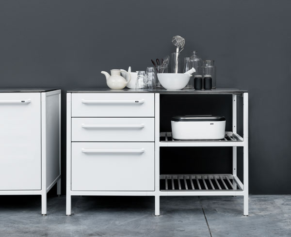 Vipp Modular Kitchens. I Happened Across This Danish Modular Cabinetry On  Remodelista The Other Day And It Spoke To Me Instantly (I Particularly Love  This ...