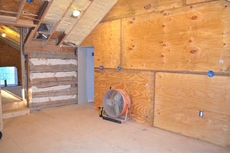 Garage Drywall Cabin Fervor July 2013