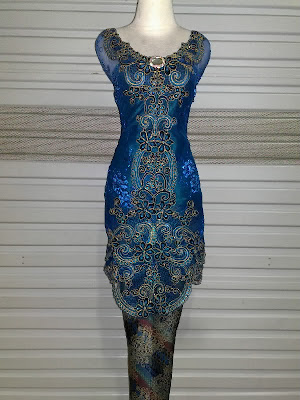 KEBAYA SL DEEP BLUE SEA